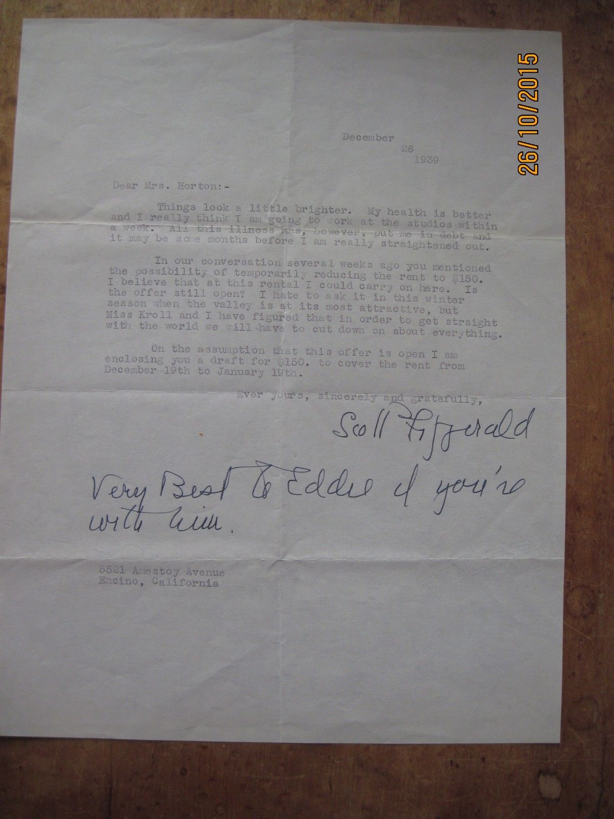 F  Scott Fitzgerald's Selected Letters